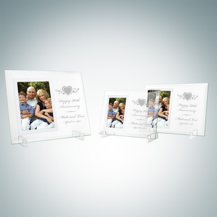 Vertical Mirror Photo Frame
