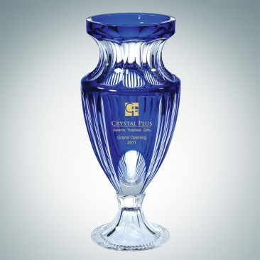 Blue Dante Vase | Handcut, Made in Italy