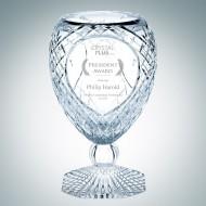 Engraved Lead Crystal Dynasty Trophy