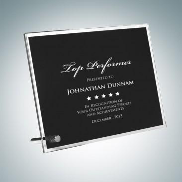 Black Chroma Award Plaque